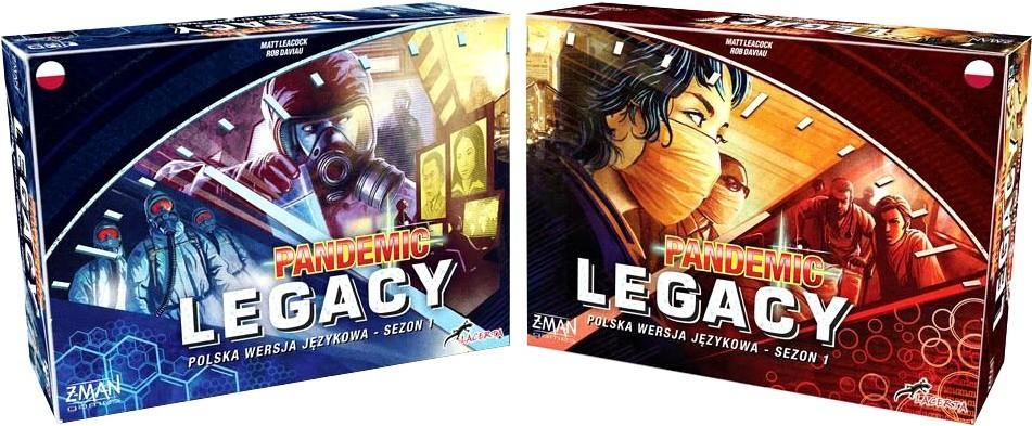 Pandemic Legacy (Pandemia) sezon 1