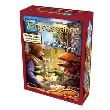 Carcassonne: Kupcy i Budowniczowie 2 edycja