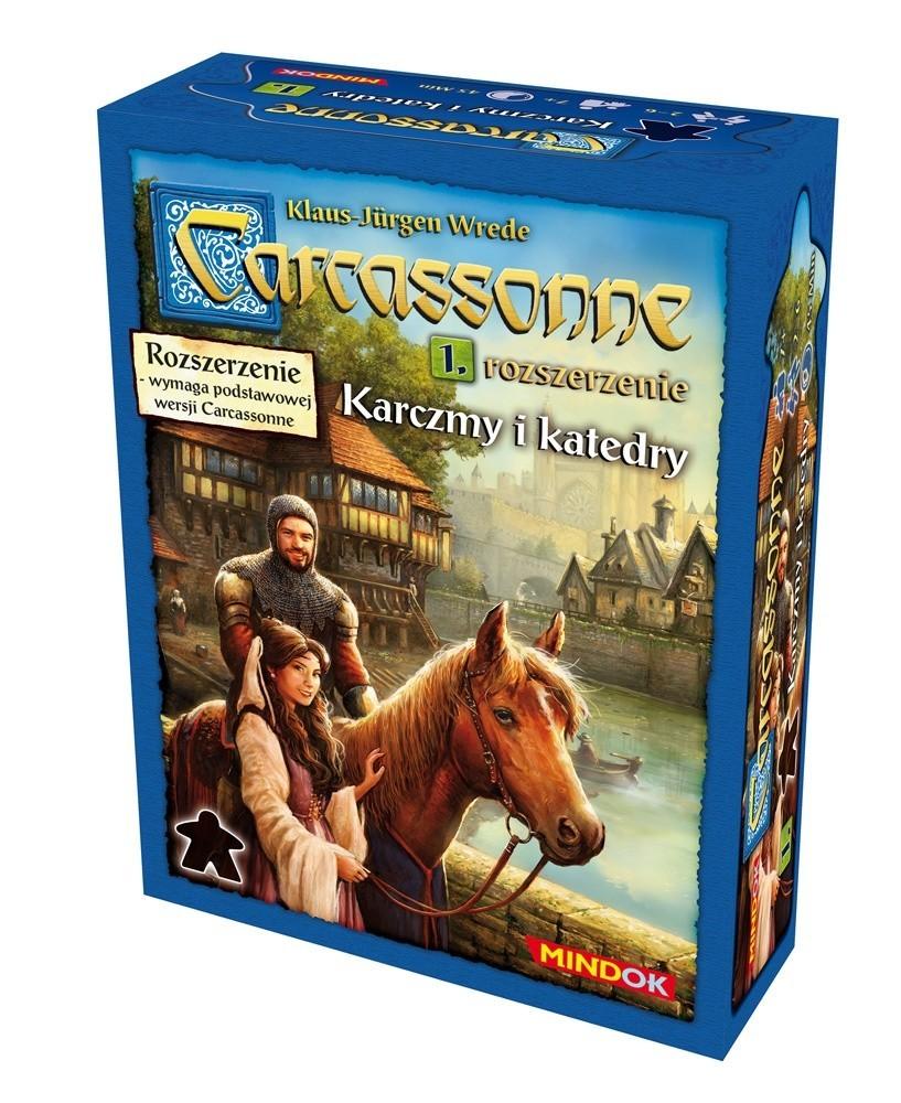 Carcassonne: Karczmy i Katedry 2 edycja