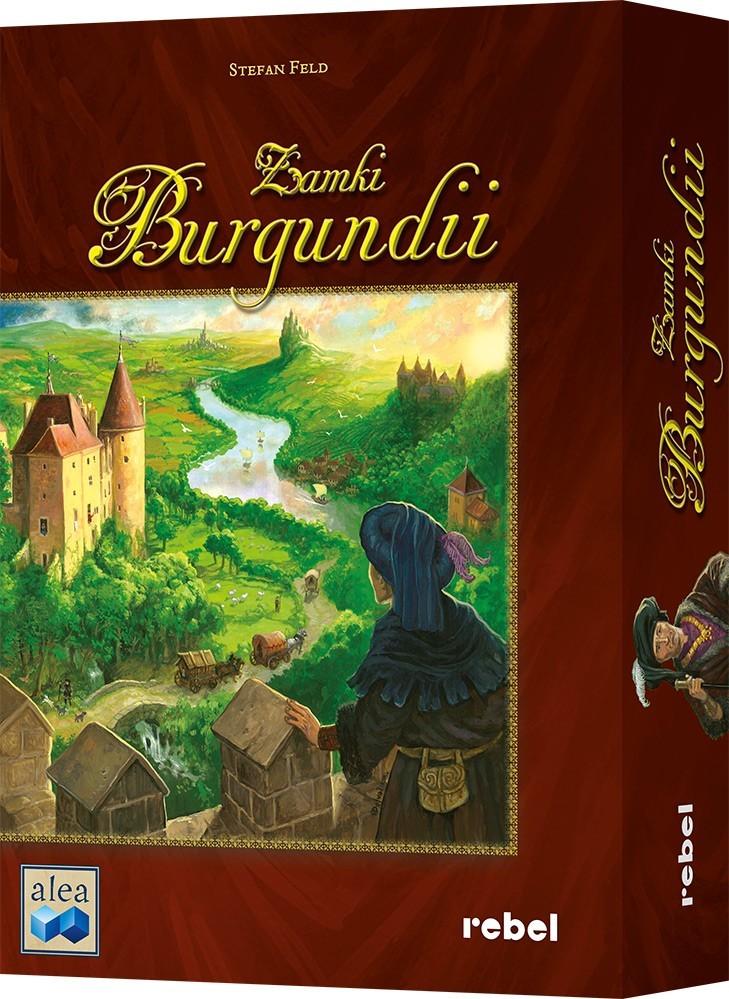 Zamki Burgundii Gra planszowa