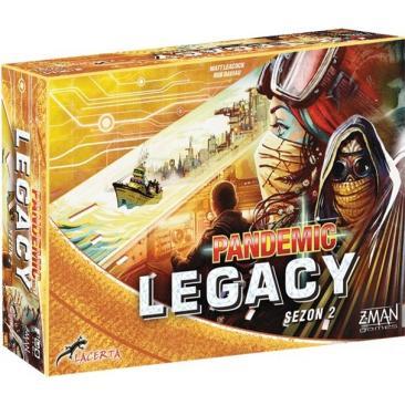 Pandemic Legacy (Pandemia) - Sezon 2 Żółta