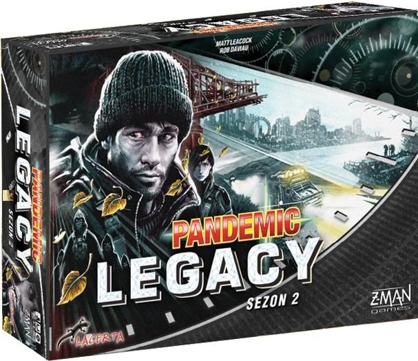Pandemic Legacy (Pandemia) - Sezon 2 Czarna