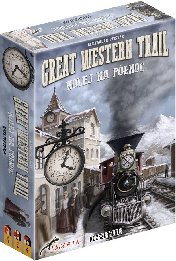 Kolej na Północ do Great Western Trail (edycja polska)