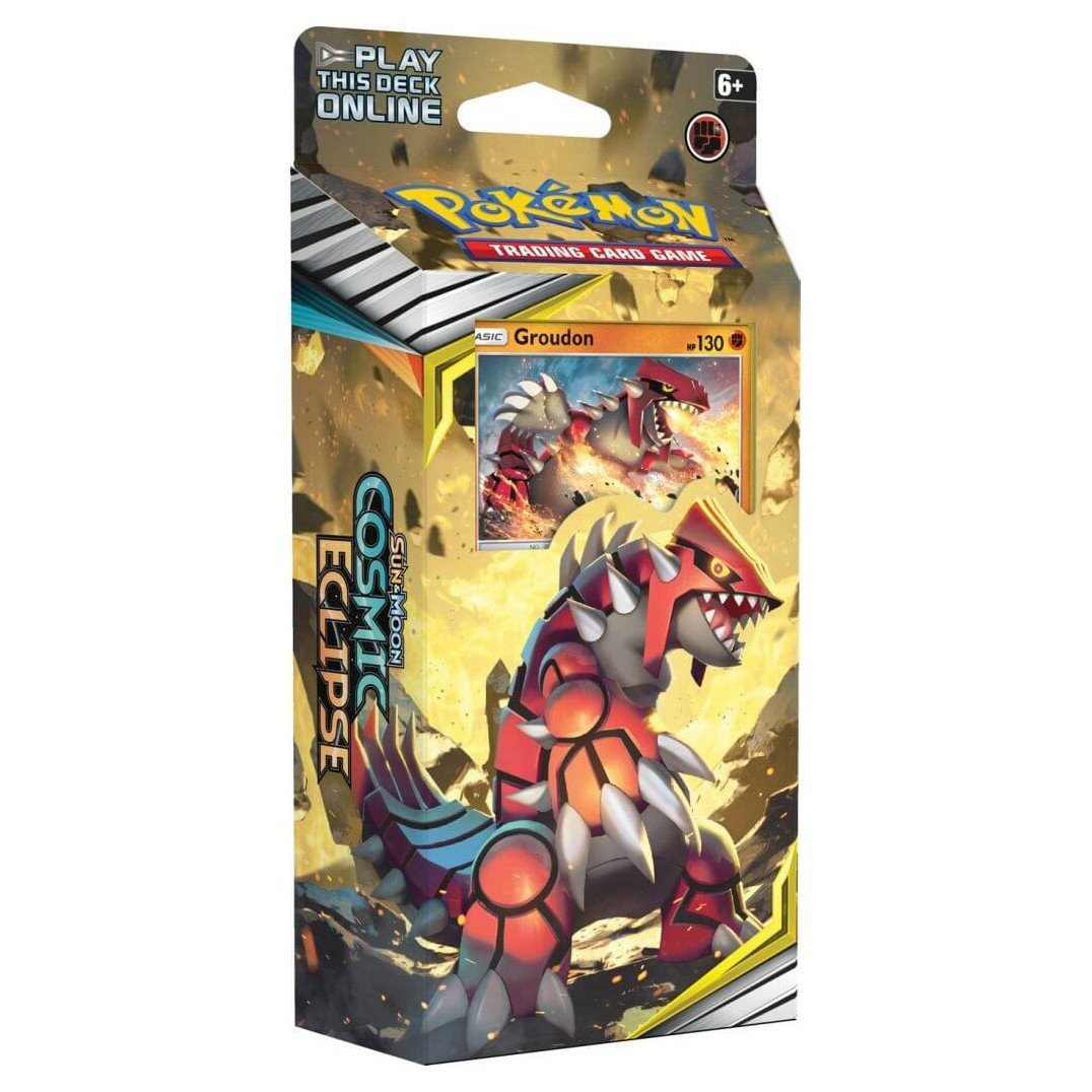 Pokemon TCG: S&M12 Cosmic Eclipse Theme Deck GROUDON