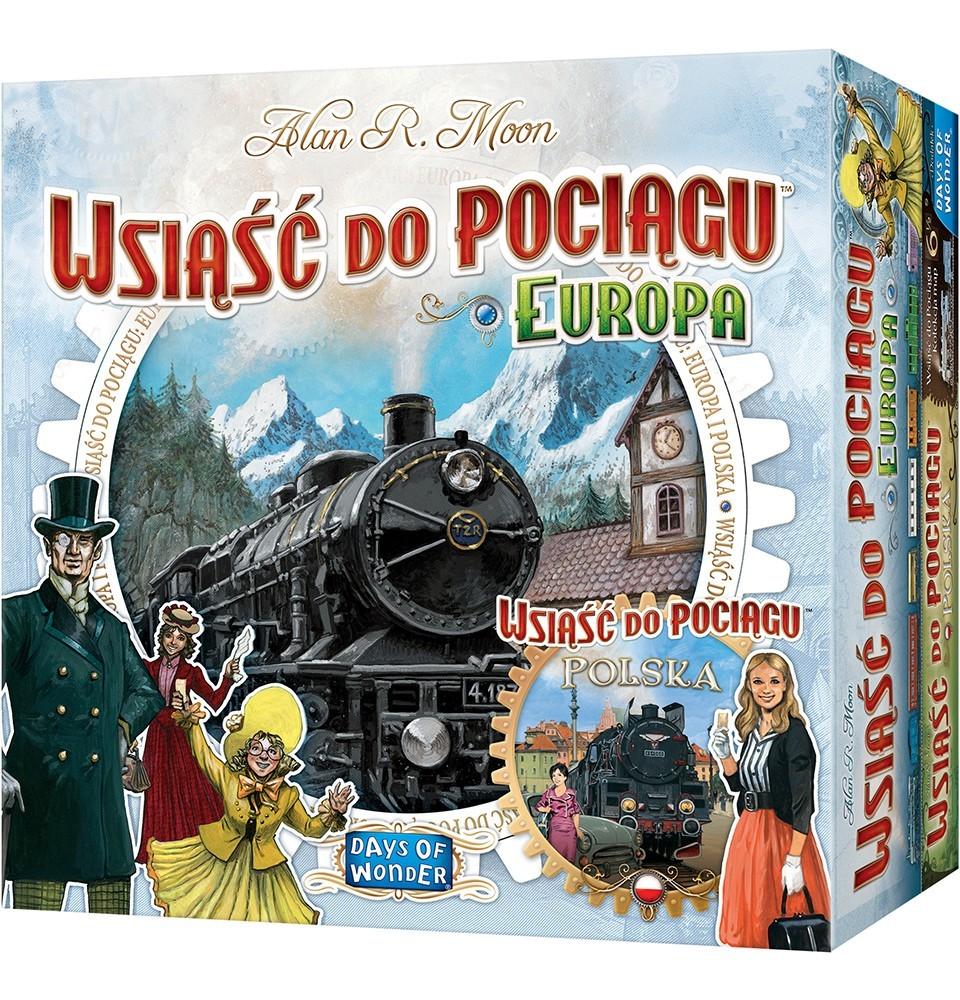 Zestaw: Wsiąść do Pociągu Europa + Polska