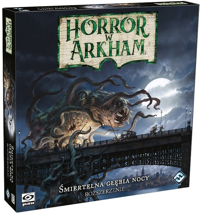 Śmiertelna głębia nocy - dodatek do Horror w Arkham 3 edycja