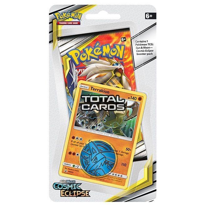 Pokemon TCG: S&M12 Cosmic Eclipse Checklane Blister - Terrakion