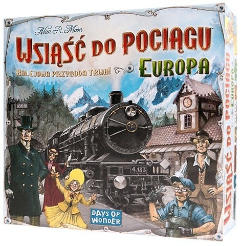 Gra Wsiąść do Pociągu (Ticket To Ride): Europa