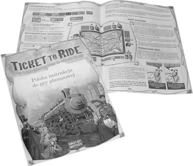 Ticket to Ride (Wsiąść do pociągu) USA