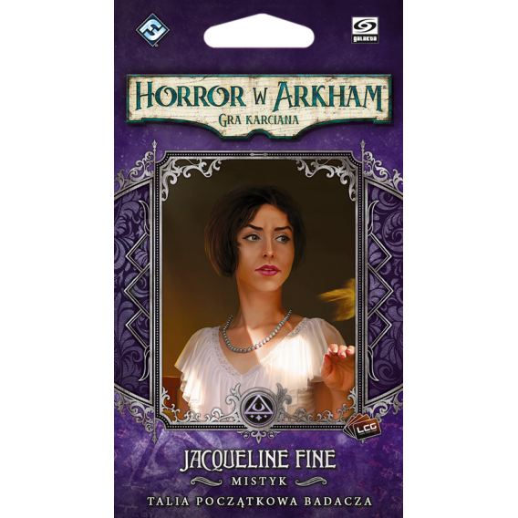Horror w Arkham LCG: Jacqueline Fine  Talia początkowa badacza