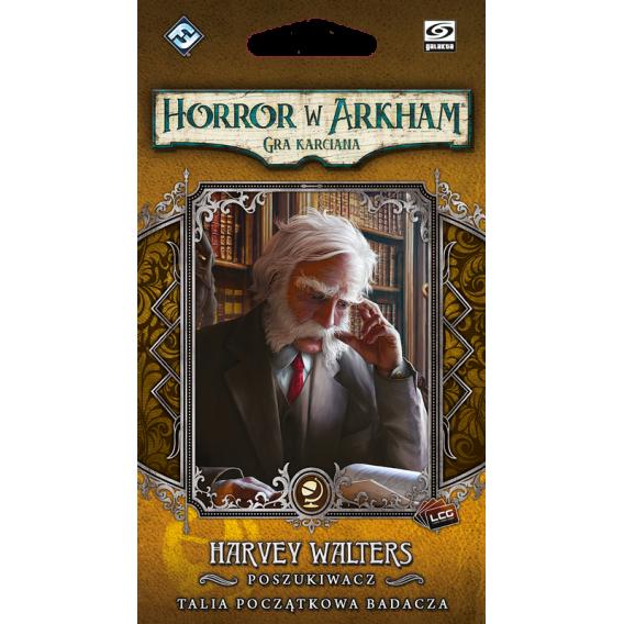 Horror w Arkham LCG: Harvey Walters  Talia początkowa badacza