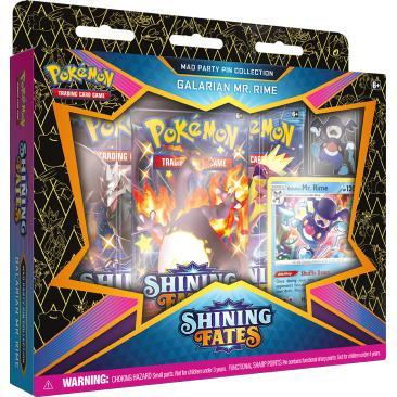Pokemon TCG: 4.5 Shining Fates Pin MR. Rime