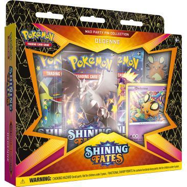 Pokemon TCG: 4.5 Shining Fates Pin Dedenne