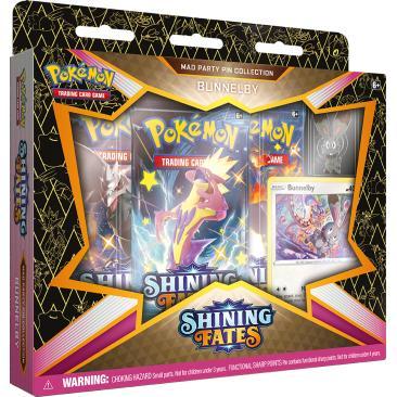 Pokemon TCG: 4.5 Shining Fates Pin Bunnelby