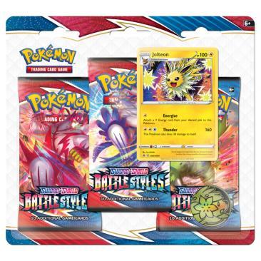 Pokemon TCG: Battle Styles - 3-pack Blister JOLTEON