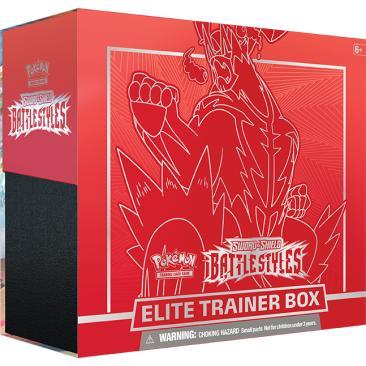 Pokemon TCG: Battle Styles - Elite Trainer Box RED