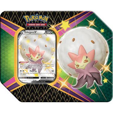 Pokemon TCG: 4.5 Shining Fates V Tin Eldegoss V