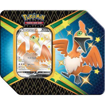 Pokemon TCG: 4.5 Shining Fates V Tin Cramorant V