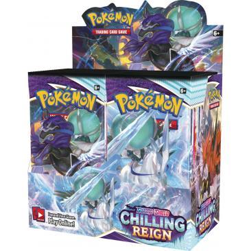 Pokemon TCG: Chilling Reign - Booster Box (36)