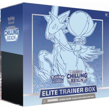 Pokemon TCG: Chilling Reign - Elite Trainer Box Ice Rider Calyrex